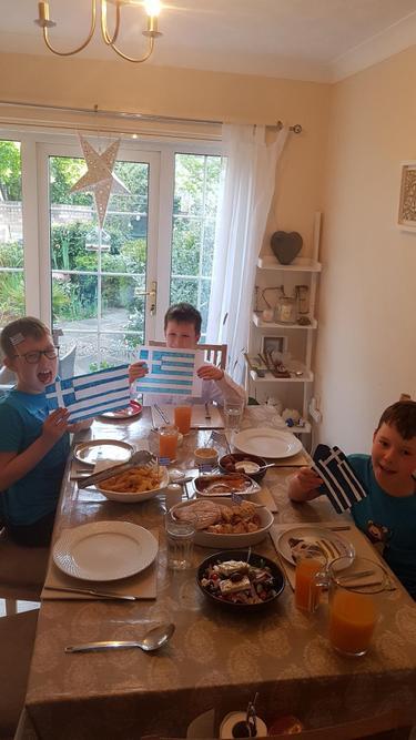 George's Greek feast
