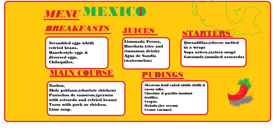 Rafe's Mexican Menu