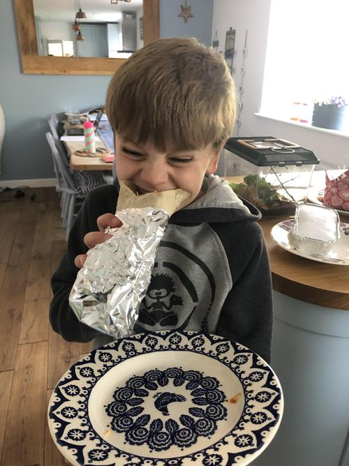 Burritos taste better when you've made them!