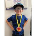 Excellent medal Charlie!