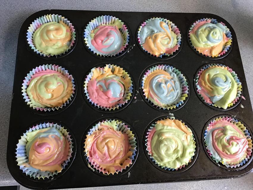 Colourful Cake Bake