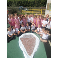 Classes 5, 6 and 8 made an ice cream