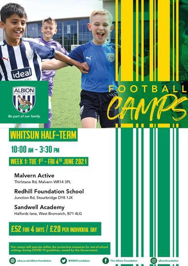 WBA Half Term Football Camp