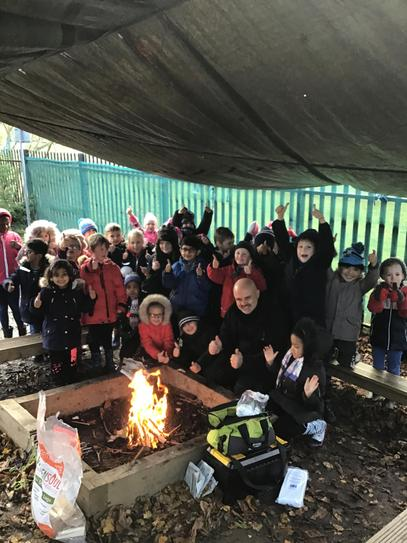 A fantastic morning in Forest School!