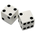 Roll dice and see how many you have.