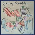 Spelling scribble