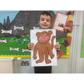 We painted animals from the Chinese New Year story