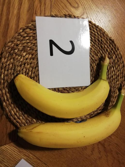 How many bananas has Little Ted found?