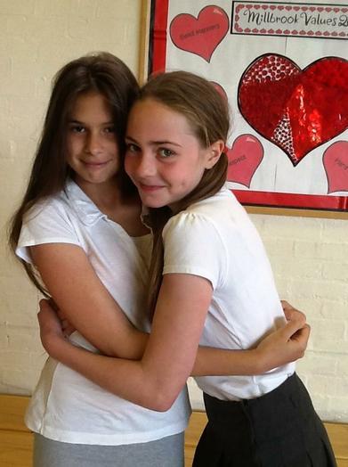 Olivia & Amelka - Year 6