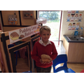 Look at the delicious bread & biscuits we made!