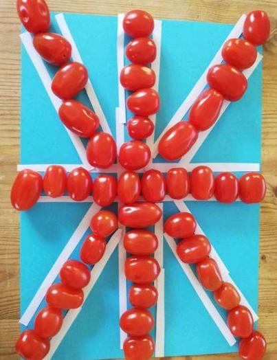 R - Oliver for a creative & tasty Union Jack!