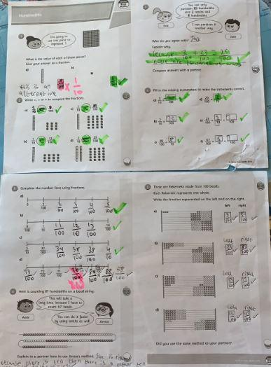 Y4 - Riley for an excellent job with his maths