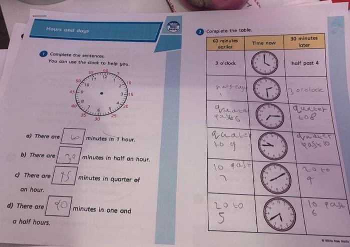 Y2 - Faith for suer maths time work