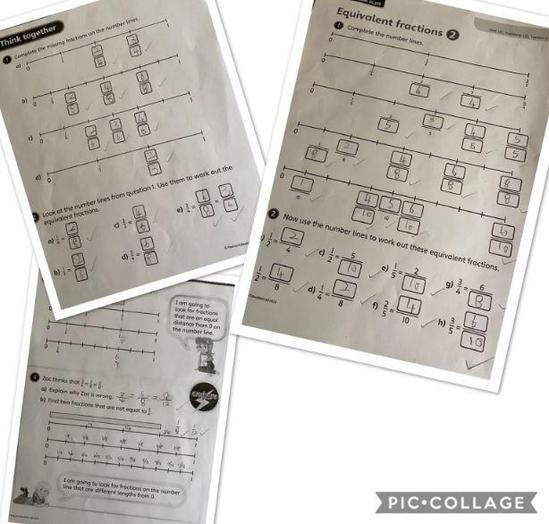 Y4 - George M for fantastic fractions