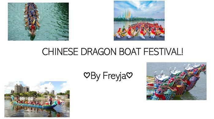 Y5 Freyja for fab Chinese Dragon Boat presentation