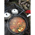 Orr stew bubbling nicely
