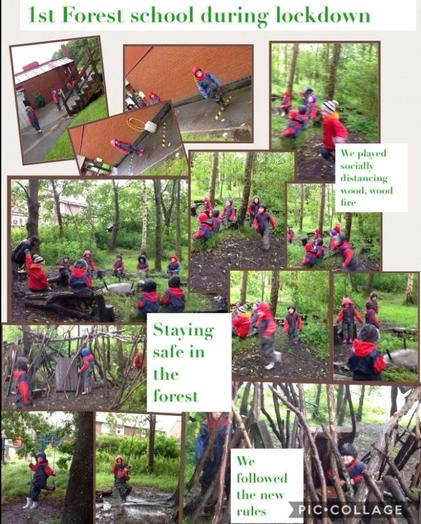 R Aiden for remembering how to stay safe in forest