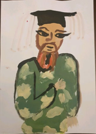 Y6 - Marcelina for super Shang Dynasty painting