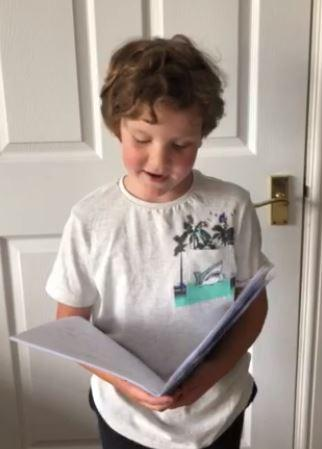 Y2 -  for super reading of his own story