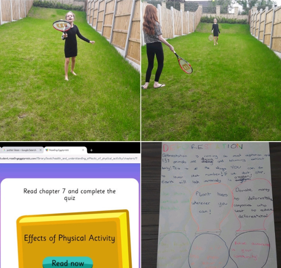 Y5 - for completing tasks & sports challenges
