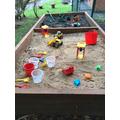 Dig DIg Dig in the sand