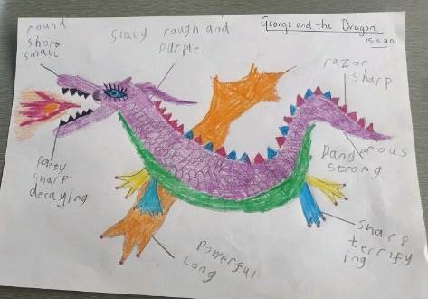 Y1 Oliver - for super dragon adjectives