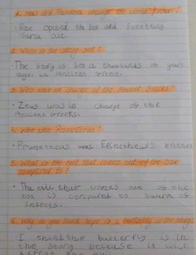 Y2 - Eliza for great English comprehension work