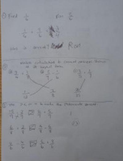 Y5 Tane - for mathe & geography work