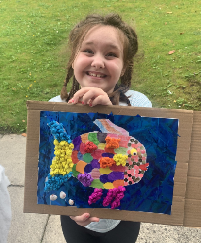 Y2 - for beautiful fish collage