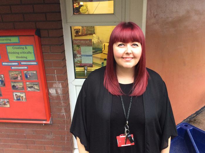 Mrs Rawson- Nursery teacher