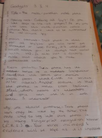 Y6-Sophie for persuasive writing on mobile phones