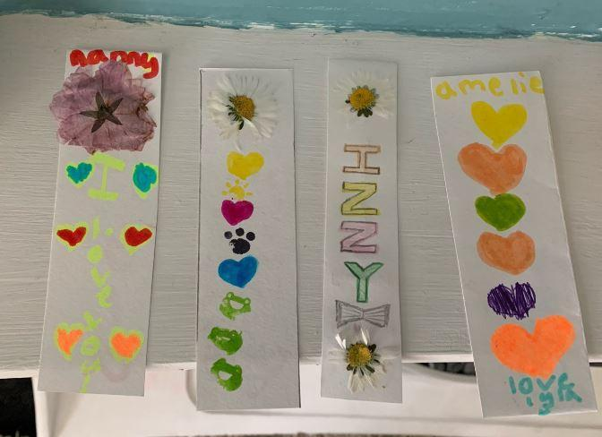 Y3 - Lyla for making beautiful bookmarks