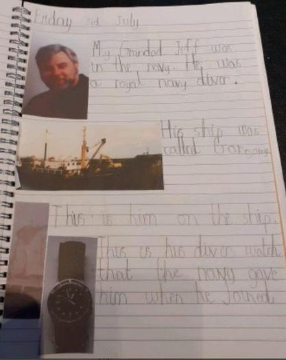Y2 Jack for project about seafaring family history