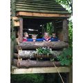 Tree house friends -Playing and Exploring