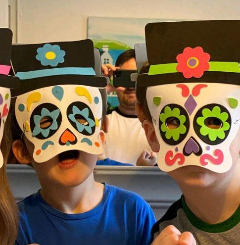 Y1 Isaac for dancing with coco masks