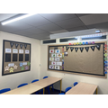 English display area