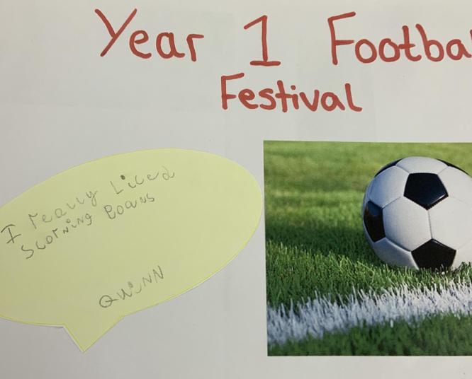 Year 1 Football Festival
