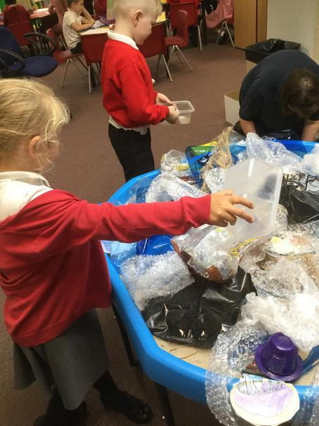 We recycled the plastic,