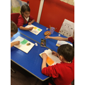 Creating art with pastels