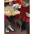 Science - experimenting with ear gongs
