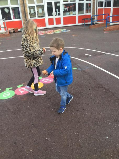 Egg and spoon races