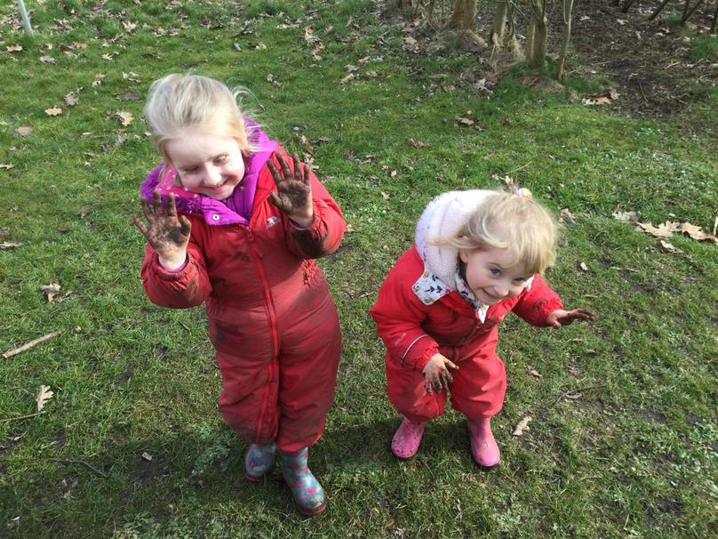 Muddy friends