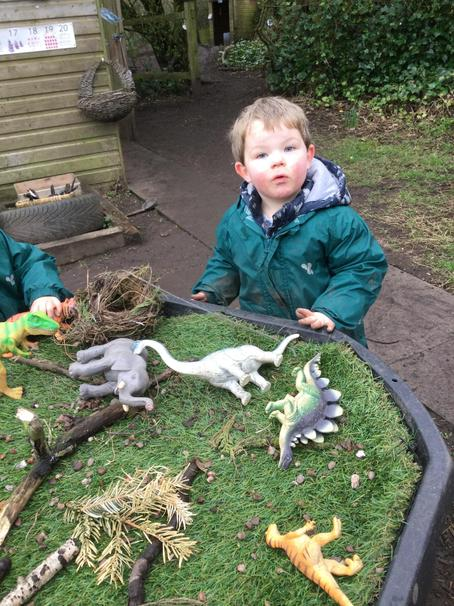 Making homes for the dinosaurs
