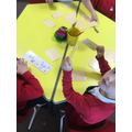 playing snap with rhyming words