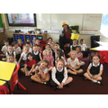 This week we had a special visit from the builder out of 'The Everywhere Bear'!