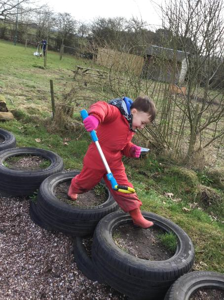 Balancing on the tyres