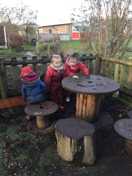 More fun in the mud kitchen