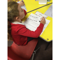 Practising holding a sentence in our head and writing it down