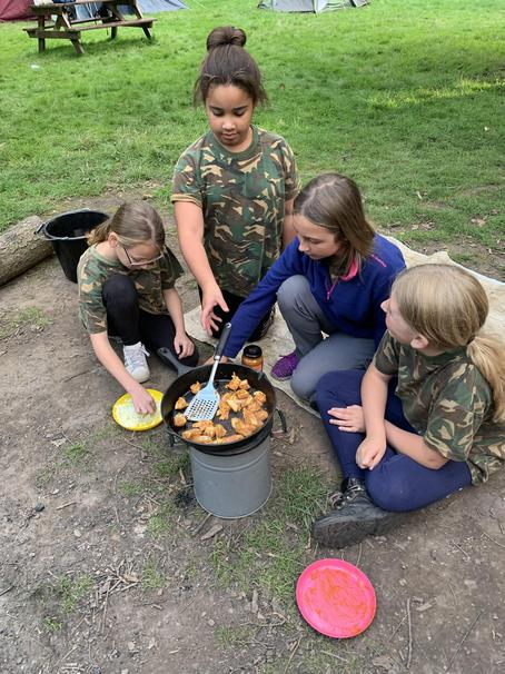 Group cooking from own recepies