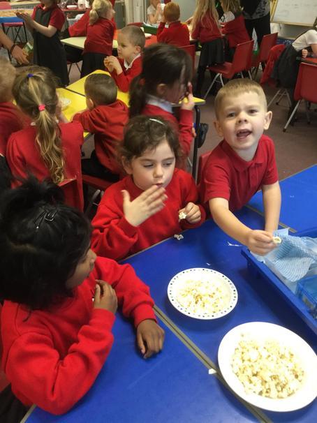 In science we explored our sense of taste